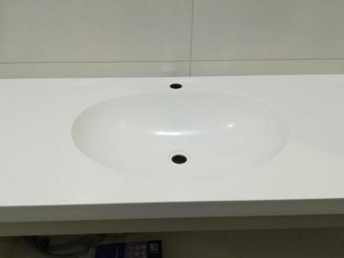 Столешница в ванную из камня
